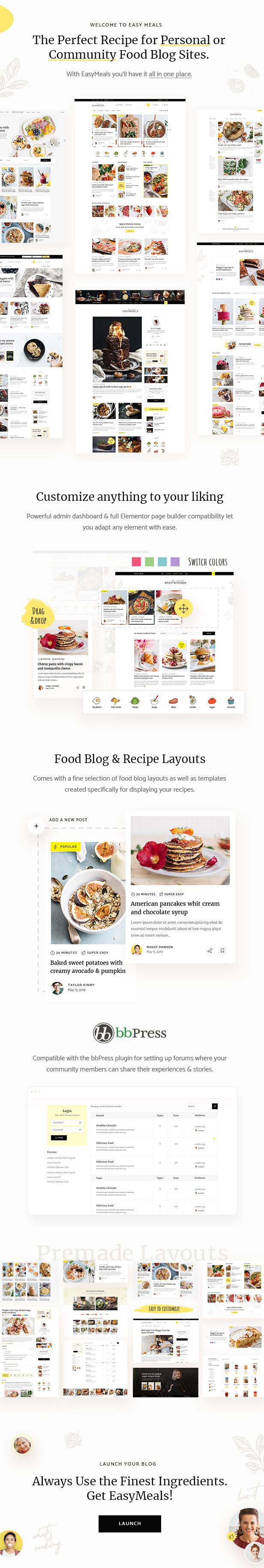 EasyMeals - Food Blog - 2
